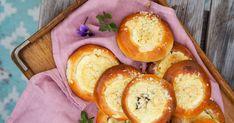 Smooth and cooking : ČESKÉ KYNUTÉ KOLÁČE Pretzel Bites, Bread, Food, Brot, Essen, Baking, Meals, Breads, Buns
