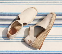 A new take on a warm-weather essential: Tory Burch Catalina Espadrille Sandal