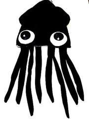 Black Squid Octopus Novelty Halloween Hat Adult Fun Silly Hat Cap-Brand New!
