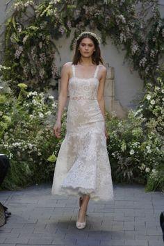 Vestidos de novia escote cuadrado 2017: Diseños que nunca pasan de moda Image: 11