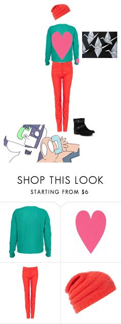 """""""Pumkin"""" by cemart ❤ liked on Polyvore featuring moda, SECOND FEMALE, Caroll, Pieces, baman piderman, modo media y pumkin"""
