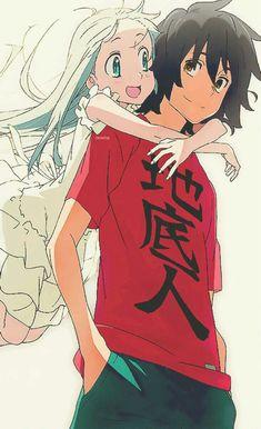 Anohana Menma JintanPinned f Manga Anime, Sad Anime, Kawaii Anime, Anime Art, Noragami, Manga Love, Anime Love, Anime Triste, Arte Sailor Moon