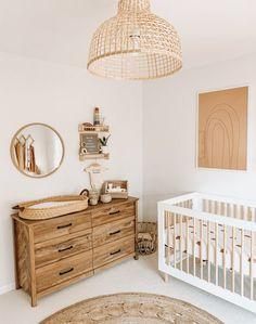 Baby Nursery Decor, Baby Bedroom, Baby Decor, Girl Nursery, Nursery Ideas For Boys, Nursery Room Ideas, Simple Baby Nursery, Vintage Nursery Decor, Ikea Nursery