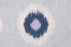 Premier Prints Ikat Domino-Drew Drapery Fabric in Berries