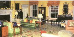 Diana's living room at Kensington Palace