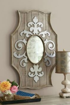 Rouleau Mirror from Soft Surroundings