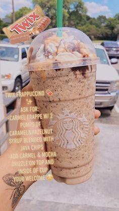 Bebidas Do Starbucks, Healthy Starbucks Drinks, Smoothies, Smoothie Drinks, Dessert Drinks, Yummy Drinks, Starbucks Secret Menu Drinks, Starbucks Coffee, How To Order Starbucks