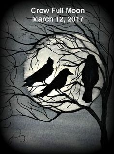 The Full Crow Moon on Sunday March 12, 2017 is at 22 degrees Virgo. The Full Moon March 2017 astrology reveals an increase in recent tensions. Stressful relatio