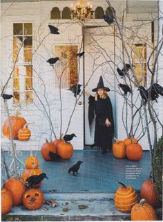 That's one decorated Halloween Porch!