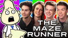 Just found that completely random cast interview of The Maze Runner, it's freaking hilarious!!