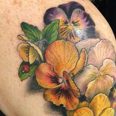 Pansies for Patrick by Esther Garcia.