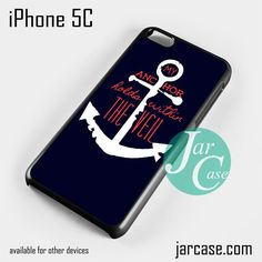 My anchor holds within the veil Phone case for iPhone 5C and other iPhone devices