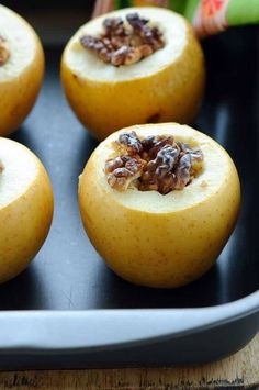 If you are looking for a Clean Eating Pumpkin Spice Baked Apple Recipe, this is the one you want! Totally delicious and totally perfect for autumn!