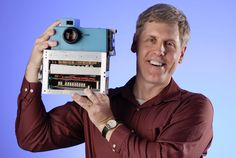 Meet the father of digital cameras.  Thank you, Steven Sasson.  Thank you, Kodak.