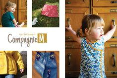 Free patterns by Compagnie M.