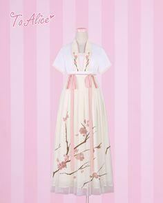 【To Alice】オリジナル 漢服改良 中華ロリィタ 梅刺繍 ワンピース   [#JP5111477] - 12,480円