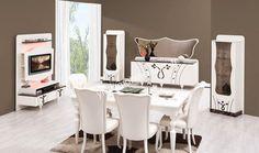 Haliç Yemek Odası Yıldız mobilya evinizi yenileyerek oluşturacağınız yeni dekorasyonla yaşamanıza mutluluk katmaya hazır #avangarde #mobilya #ev #moda #dekorasyon #home #sofa #popüler http://www.yildizmobilya.com.tr/