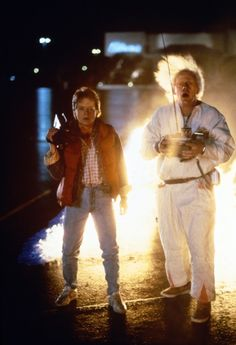 Back to the Future (1985) - Michael J. Fox & Christopher Lloyd