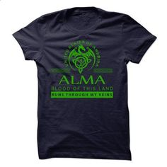 ALMA-the-awesome - #diy tee #cute tshirt. SIMILAR ITEMS => https://www.sunfrog.com/Names/ALMA-the-awesome.html?68278
