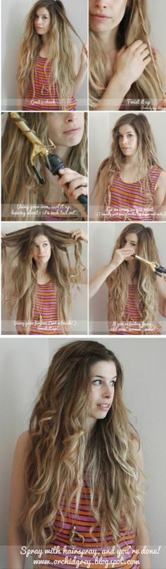 How to Beachy Waves - Hairstyles How To