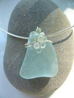 Sea glass and crystal