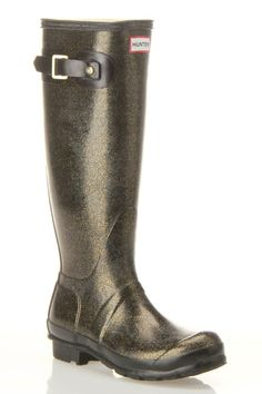 Hunter .... Glitter Rain Boots ...yes~