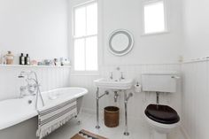 Period yet modern bathroom