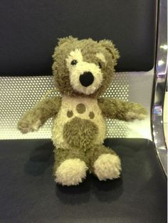 FOUND, PERTH AIRPORT, AUSTRALIA This cream and brown teddy bear was found at the Perth International Airport arrival's lounge. Please contact us or https://www.facebook.com/janine.cooksey or https://www.facebook.com/TeddyBearLostAndFound