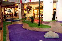 Bavarian Inn Lodge Debuts a New Putt-Putt Course - Synthetic Turf International Indoor Putt Putt, Indoor Mini Golf, Frankenmuth Bavarian Inn, Miniature Golf, Park Hotel, Water Slides, Great Lakes, Lodges, Golf Courses