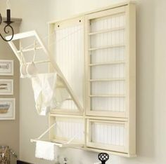 small laundry room idea (Can this fit on the back of my door?)
