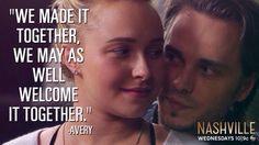 Juliette and Avery Nashville Season 3