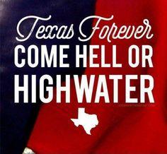 TEXAS~Harvey hell & highwater