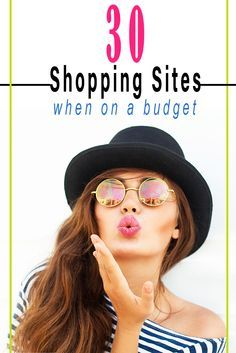 You don't need to spend a fortune to have a stylish closet! Here is a list of the most stylish budget friendly shopping sites.  #womensfashion
