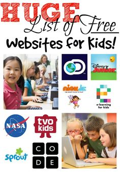 Discover the best educational websites for kids. Let your children learn about e… Discover the best educational websites for kids. Let your children learn about everything from anatomy to phonics with these free and fun websites Learning Tips, Free Learning Websites, Learning Activities, Kids Learning, Activities For Kids, Children Websites, Educational Activities, Parenting Websites, Learning Shapes