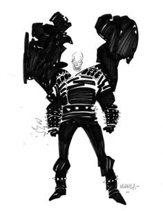 Ghost Rider by Mike Mignola