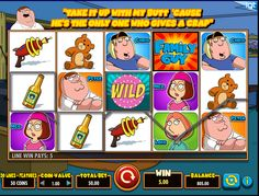 Hracie automaty Family Guy - A je to tu. Populárny kreslený seriál Family Guy už k dispozícií aj ako hrací automat. O zábavu sa postarajú všetci členovia rodinky, s ktorými si to dosýta užijete, aj keď nie ste priamo u nich. #Hracie #automaty #Online #HracieAutomatyOnline #hracieautomaty #vyherneautomaty #FamilyGuy #family #guy #griffin #jackpot