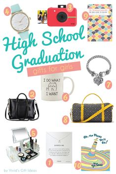 High School And College Graduation Gift Ideas For Girls