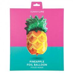 Sunnylife pineapple foil balloon