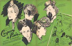 MARIE CLAIRE 1940-Gruau
