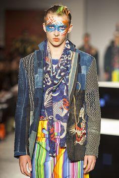 Kansai Yamamoto in London Marks Return to Fashion World