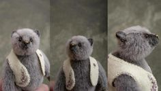 Rebel Miniature Mini Artist Bear by Aerlinn Bears