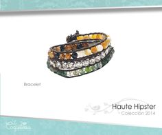 Secciones de madre perla genuina, ópalo, gemas ágata y cristales están tejidas en un cordón de piel, se entrelazan para formar este maravilloso brazalete que abrazará tu muñeca, dándole un toque multícolor que resaltará tu guardarropa casual.  www.lacoqueteria.co #bracelet #brazalete #accesories #beautiful #lacoqueteria #fashion  #shoppingonline #tiendaenlinea #mexico #accesorios #moda #monterrey #merida #vestidos #joyeria #bisuteria #boda #tendencias