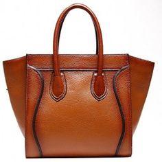 TOP-BAG-fashionable-women-ladies-genuine-leather-tote-satchel-shoulder-handbag-Model-A-G-0