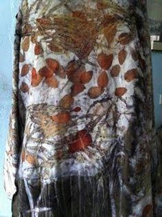 Cashmere coat, autumn leaves - (prophet of bloom) <> (fabric, textile, fiber, art, apparel)