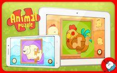 Mi Primer Puzzle Animales Mini - #app #android