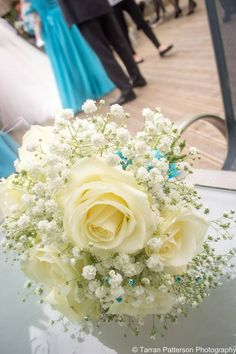 Rose and gypsophila bouquet