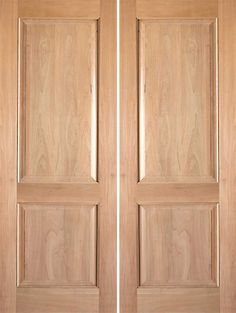 Prehung slab knotty alder 2 panel arch top panel s w 95 for Solid wood door construction