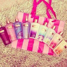 Victoria Secret Creams, lotion. Beauty.        I want one!!!,