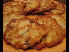 Картофельные оладьи с рыбой - YouTube