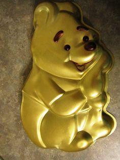 Vintage Wilton Walt Disney Winnie the Pooh Bear Cake Baking Pan 515 401 by Look4it2buynow on Etsy